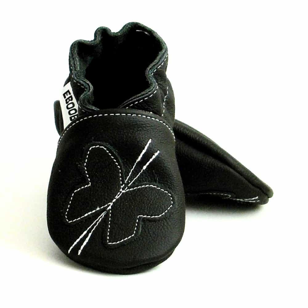 Бабочка чёрная на чёрном